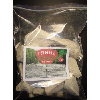 Глина Нежная каолин гранулы, 1 кг